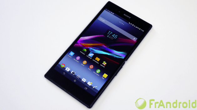 Un Xperia Z Ultra en version WiFi Only ou la plus petite tablette du moment