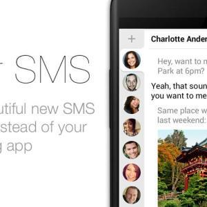 hello, une alternative originale à l'application SMS d'Android