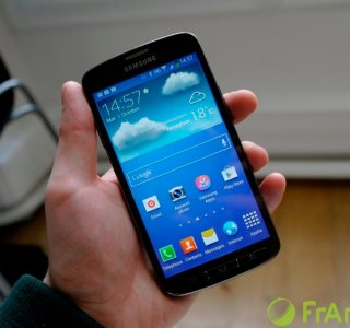 Test du Samsung Galaxy S4 Active