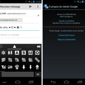 Clavier Google 2.0.1 : la mise à jour officielle s'invite sur le Play Store