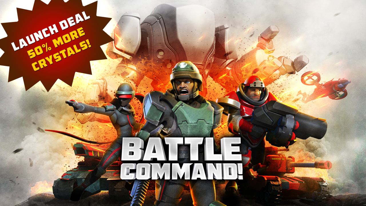 Battle Command! le jeu de stratégie MMO vu par Spacetimes Games