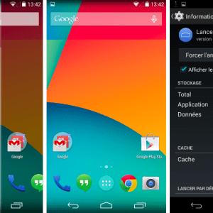 Google Experience est une exclusivité propre au Nexus 5 (pour le moment)