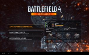 Battlefield 4 Commander est disponible sur le Play Store (pour tablettes)