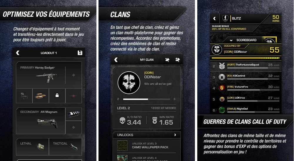 Call of Duty, l'application compagnon est disponible sur le Play Store