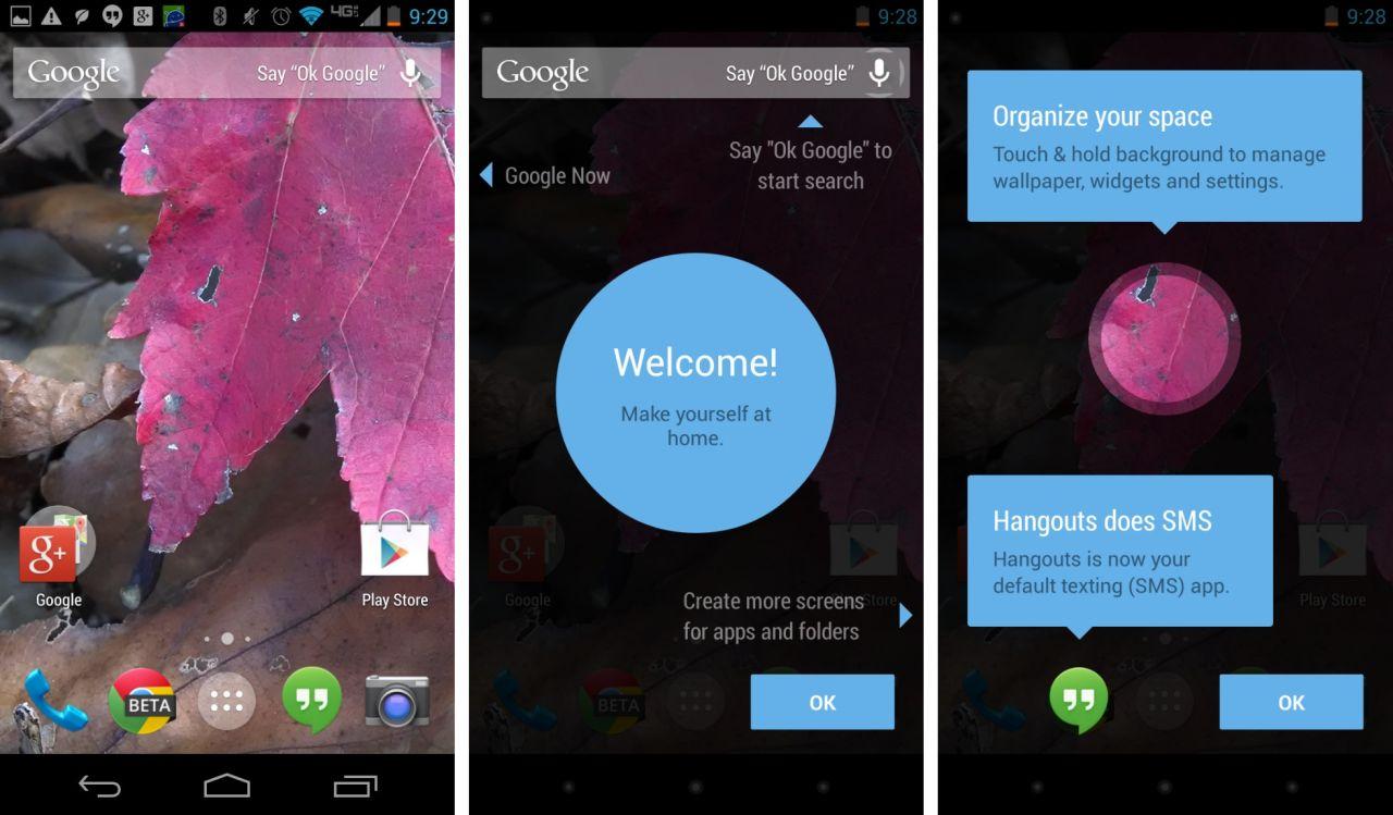 Google Experience : Découvrez le nouveau Launcher d'Android 4.4 KitKat