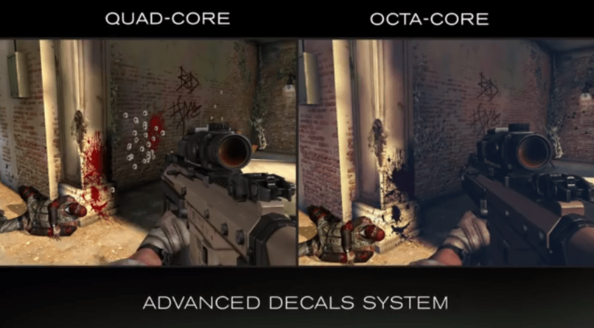 MediaTek et Gameloft montrent Modern Combat 5 sur l'octa-Core MT6592