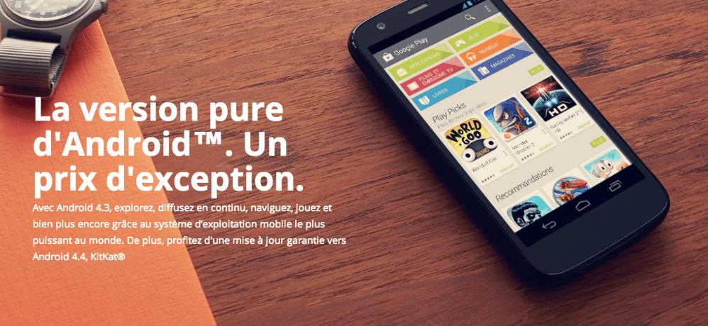 Le Motorola Moto G arrive en précommande sur Amazon.fr à 199€