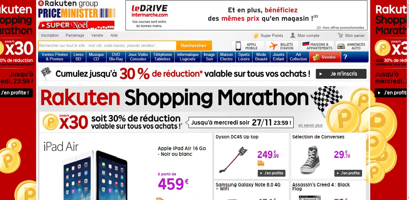 Bon plan Noël : une vente flash de smartphones et phablettes sur PriceMinister de 18h à 23h ce soir