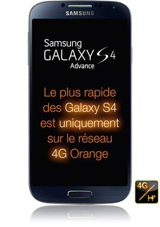 Le Samsung Galaxy S4 Advance est arrivé chez Orange et Sosh