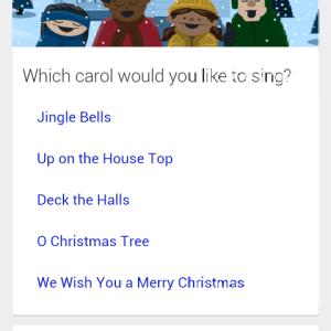 Google Search propose des chants de Noël en karaoké, let's go caroling !