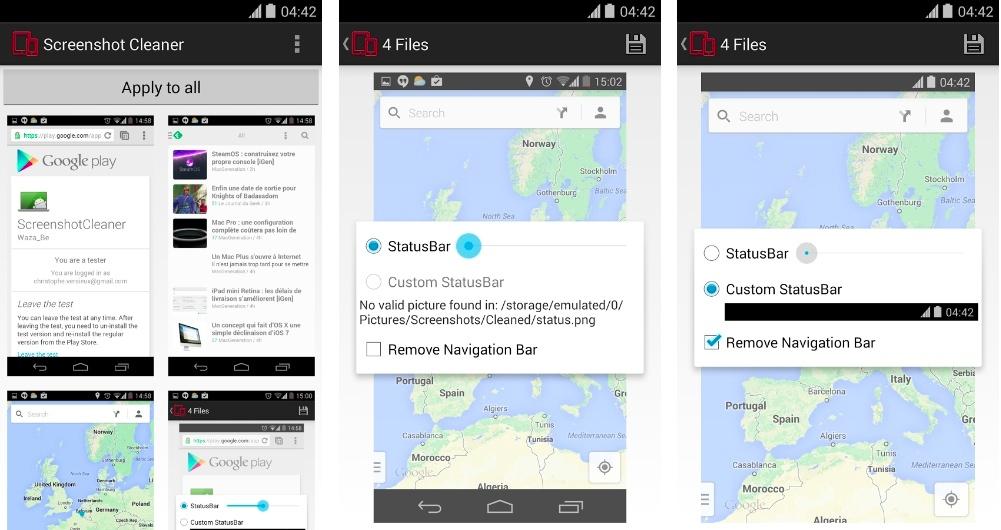 ScreenshotCleaner, une app pour épurer ses captures d'écran sur Android
