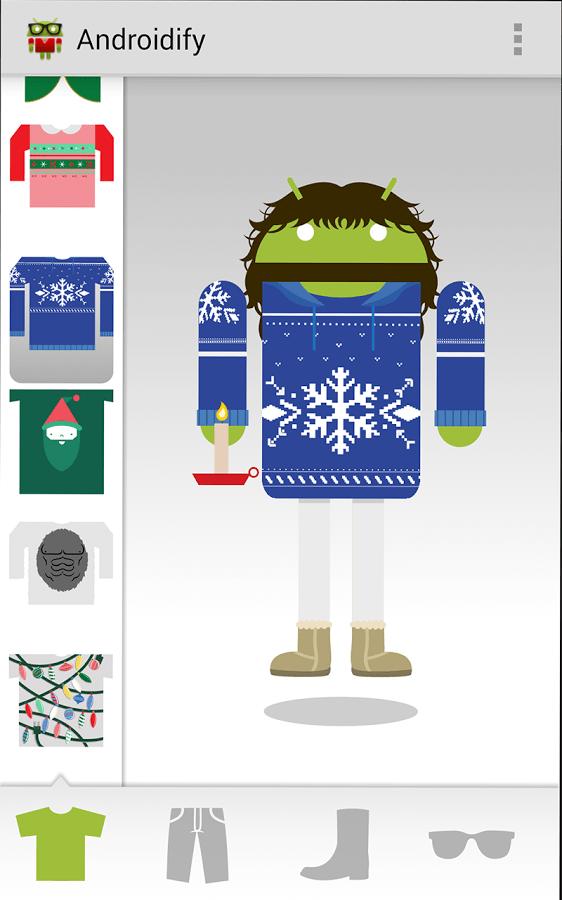 Androidify est de retour, créez l'avatarDroid qui vous ressemble