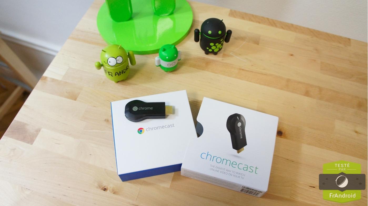 Chromecast à l'international en 2014 avec de nouvelles apps et périphériques