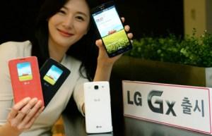LG officialise son Gx, un G Pro avec LTE de catégorie 4