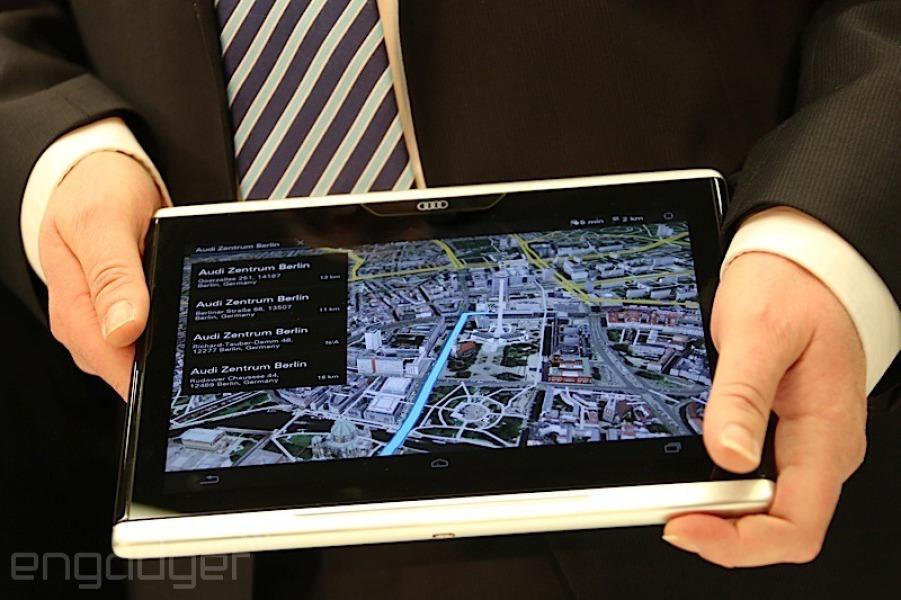 Audi lance sa première tablette Android !