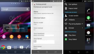 Le Sony Xperia V a aussi droit à sa fuite d'Android 4.3 !