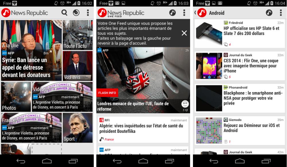 News Republic 4.0 se remet à neuf sur Android