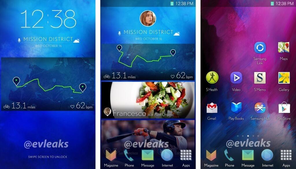 Samsung : une interface plus épurée de type magazine pour le Galaxy S5 ?