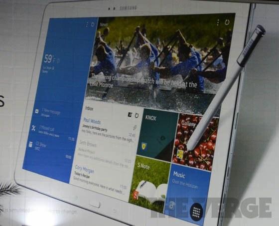 Les tablettes Samsung Note Pro et Tab Pro se confirment