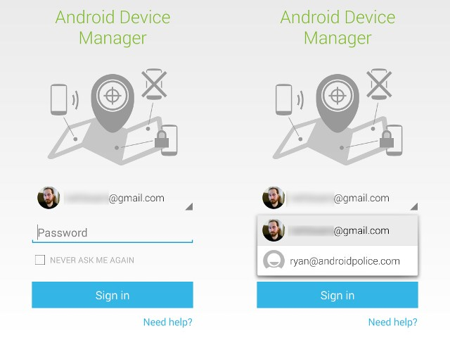 Android Device Manager désormais accessible avec un mot de passe