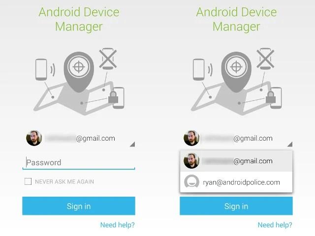 Android Device Manager désormais accessible avec un mot de passe