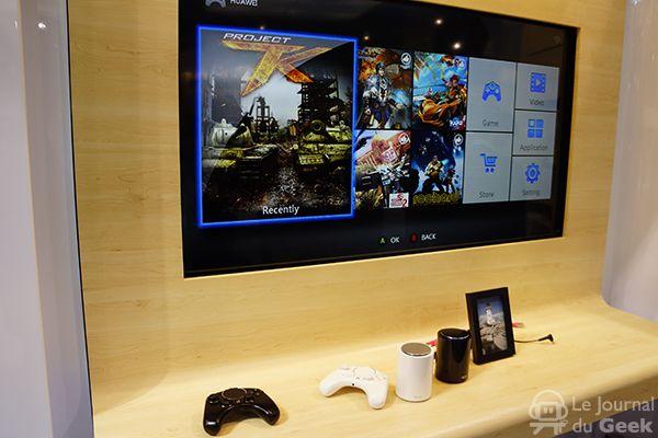 Huawei Tron : une nouvelle console de jeux de salon sur Android