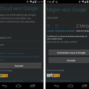 Motorola Migrate 1.2.1 est maintenant compatible avec iCloud (iPhone) sur Android