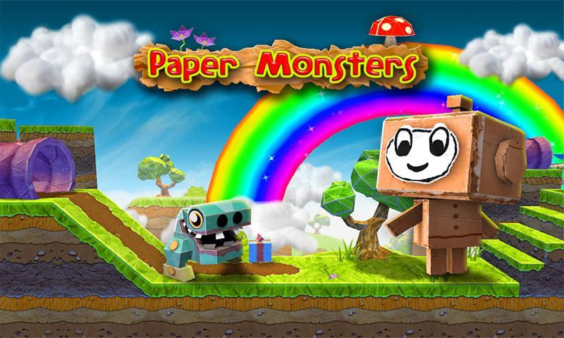 Paper Monsters! arrive en version gratuite sur le Google Play