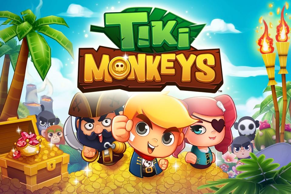 Tiki Monkeys, le jeu d'arcade de MilkCap débarque sur Android