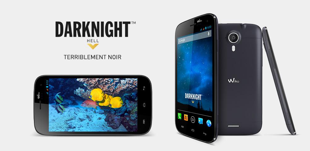 Wiko Darknight, le mobile de 5 pouces HD est disponible à 200 euros