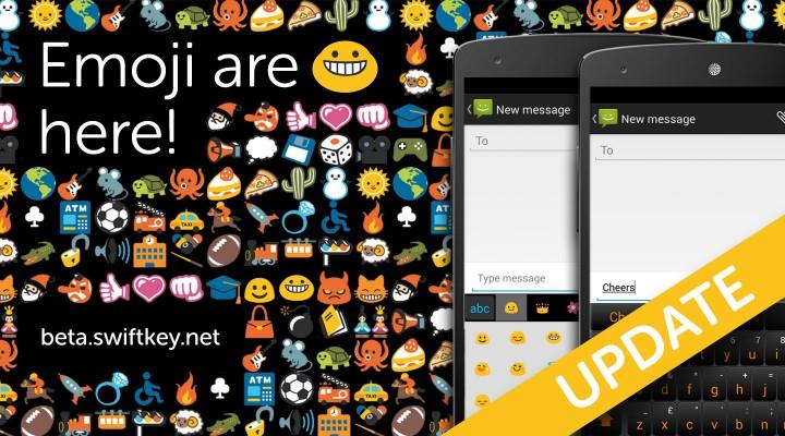 Swiftkey Beta : le clavier virtuel améliore ses émojis sur Android