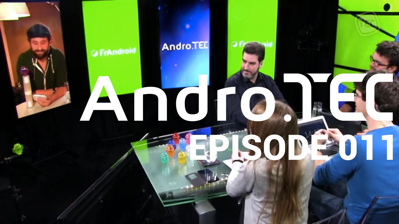 AndroTEC 011 : «Jusqu'où ira Google ?», test du LG G Flex et discussions autour de l'actu de la semaine