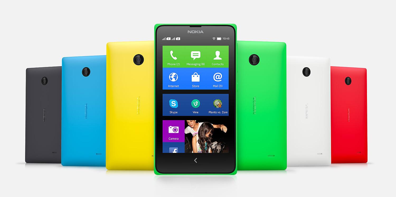 Nokia X et X+ : 4 pouces, Snapdragon 200 et Nokia X OS
