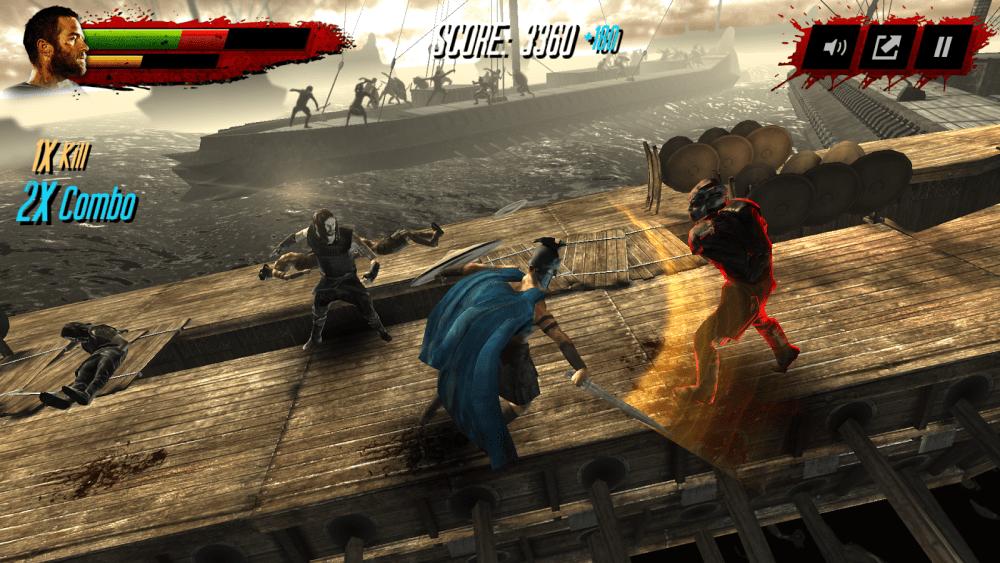 Le jeu 300: Gloire et Vengeance est disponible sur le Google Play
