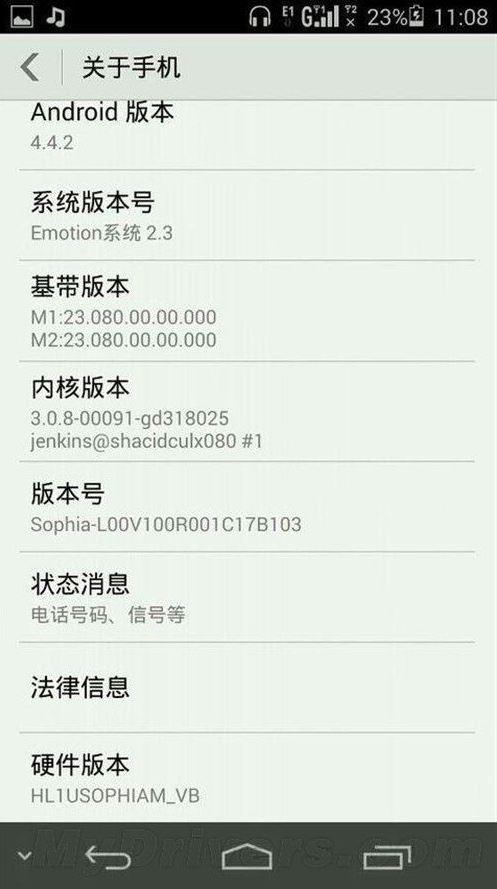 Huawei Ascend P7 : un lancement sous Android 4.4.2 KitKat ?