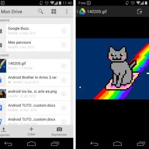 Google Drive supporte désormais les GIF animés