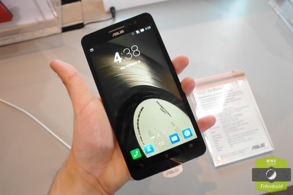 Prise en main des Asus ZenFone 4, 5 et 6 sur Android