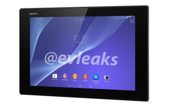 Sony Xperia Tablet Z2 : après les caractéristiques, un visuel