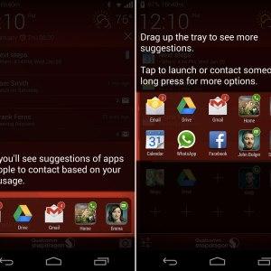 Snapdragon Glance, le lockscreen «en un coup d'œil»