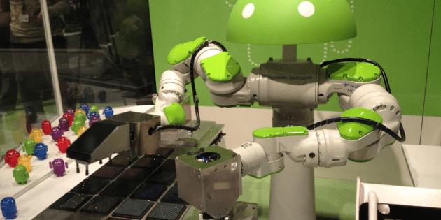 Robotique : un deal à double sens entre Google et Foxconn