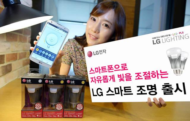 LG Lighting, l'ampoule connectée vue par un fabricant de smartphones