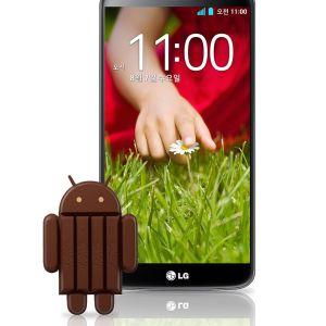 LG G2 : après le passage à KitKat, un correctif pour améliorer son autonomie