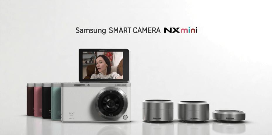 Samsung NX Mini : un APN connecté à objectifs interchangeables pour les amateurs de selfies