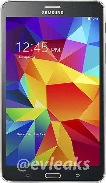 Des images de la Samsung Galaxy Tab 4 7.0