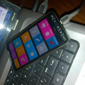 Un goût de Nokia X sur l'indémodable HTC HD2