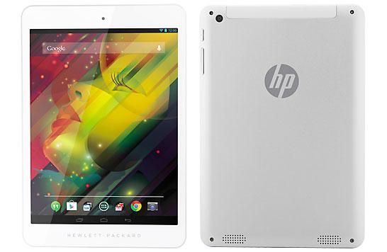 HP 8 1401 : une tablette 8 pouces à 159 euros