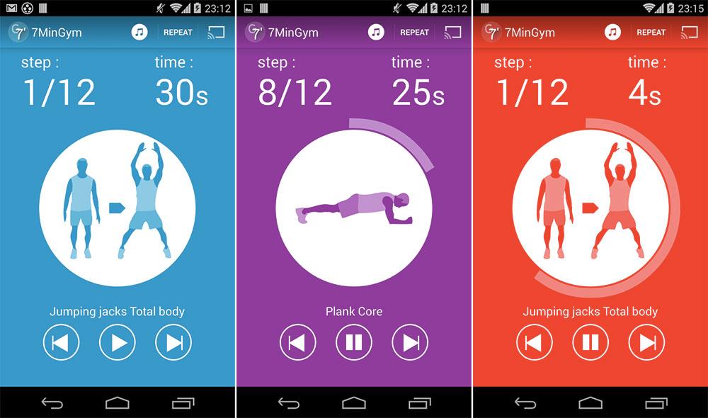 7MinGym, l'app Chromecast qui veut vous maintenir en forme