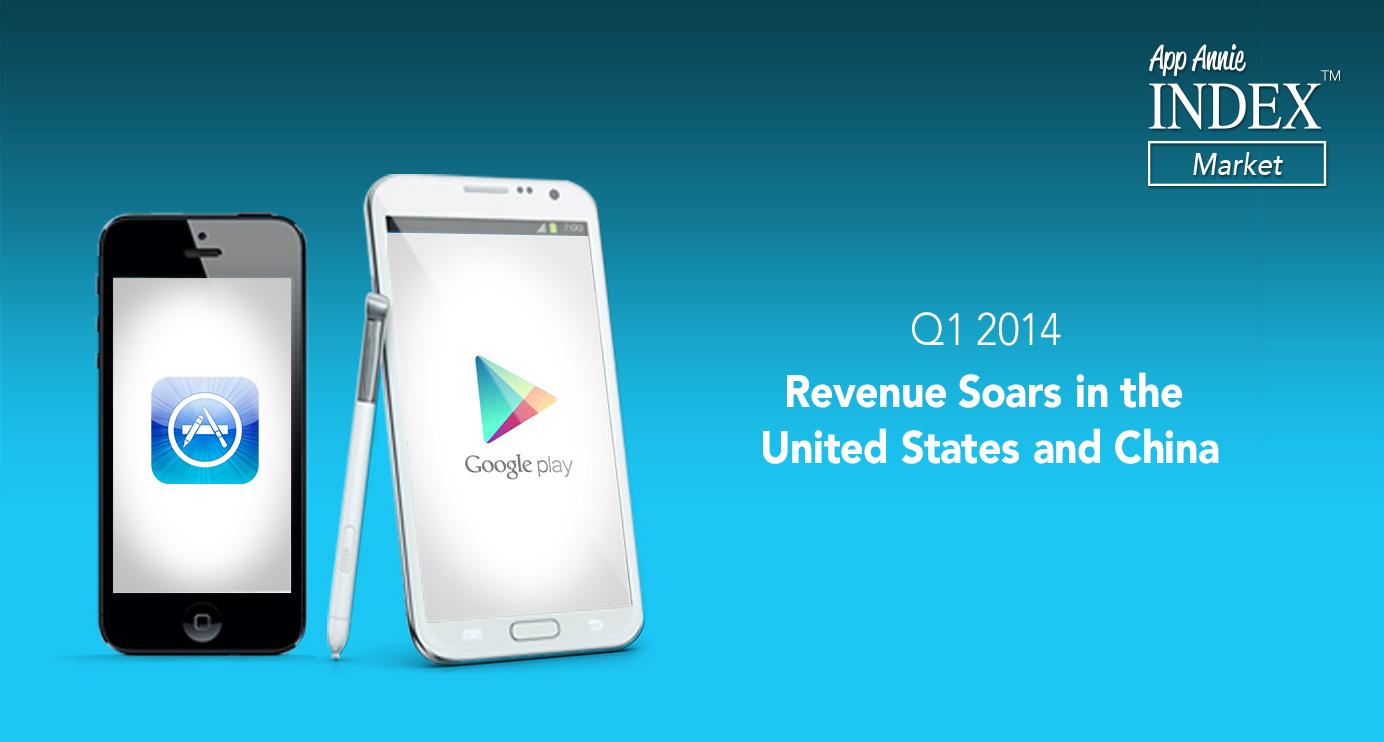 Google Play : des téléchargements plus nombreux que sur l'App Store, mais des revenus moindres