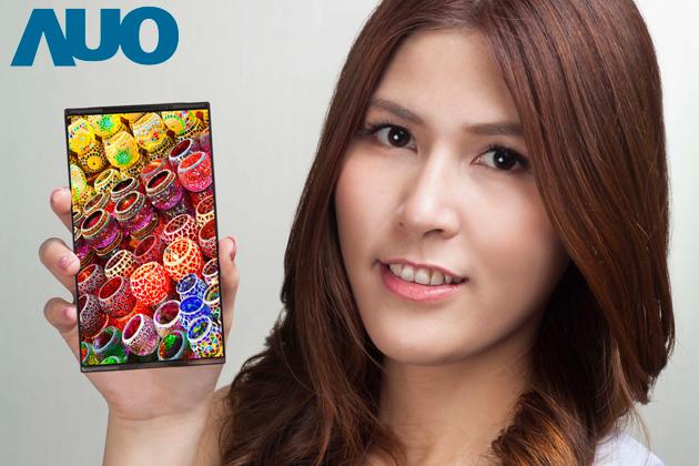 AUO dévoile un écran AMOLED 6 pouces QHD (2K) avant Samsung