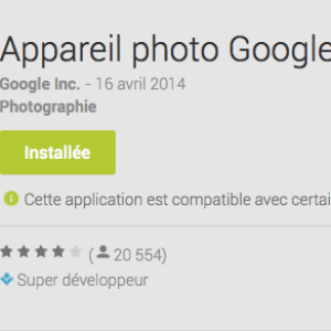 L'application appareil photo Google propose l'effet Blur, comment ça marche ?